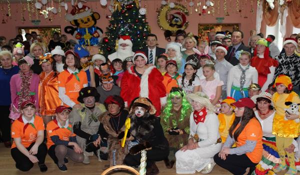 Новогоднее благотворительное мероприятие  в  рамках акции  «Наши дети» в Василишковском доме-интернате