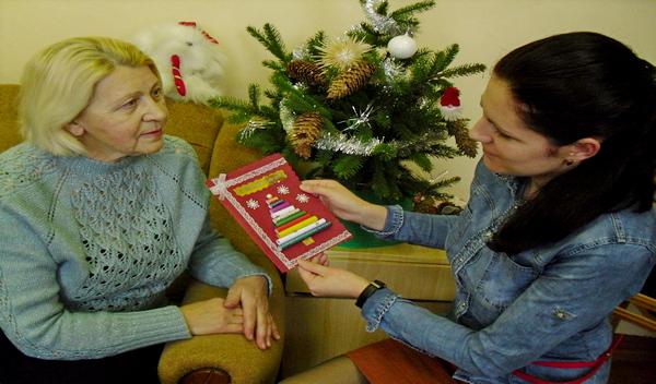 Поздравительная акция «Рождественская открытка» проходит в Гродненской области