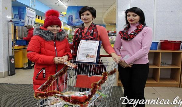 В Щучинском районе проходит рождественская акция «Твори добро»