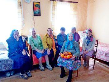 Пасхальная встреча пожилых в д. Матюляны