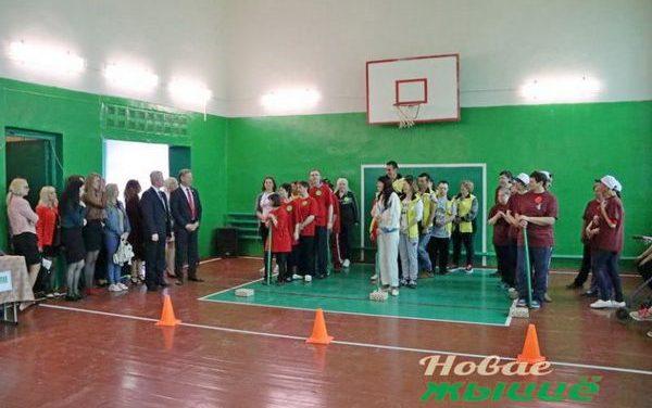 Межрайонная спортландия «Мама, папа, я – спортивная семья»