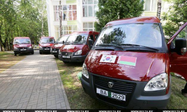 Микроавтобус для ГУСО «Жуховичский дом-интернат для престарелых инвалидов»