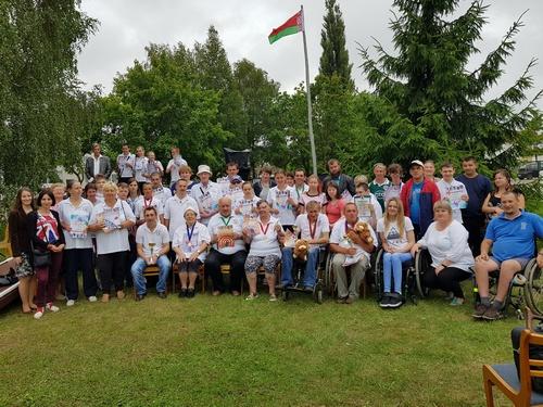 IV межрегиональная спартакиада для людей с ограниченными возможностями проведена в г.Сморгонь