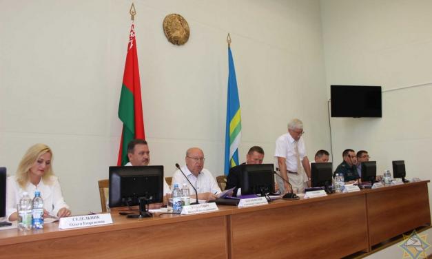 На семинаре-совещании в Дятлово обсудили вопросы обеспечения безопасных условий проживания граждан