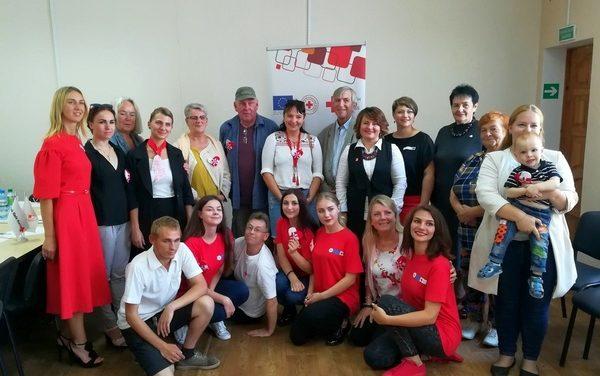 Встреча с волонтерами из Дании в ГУ «Территориальный центр социального обслуживания населения Волковысского района»