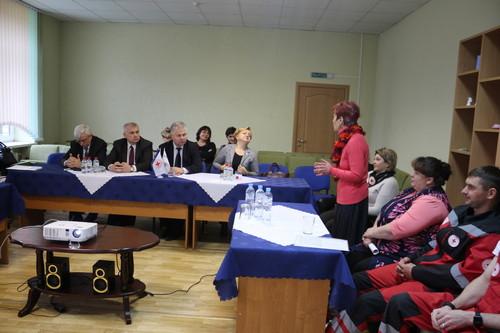 Выездное заседание Координационного советапо реализации проекта международной технической помощипрошло в Островце