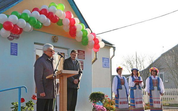 В агрогородке Каролин открылся филиал центра социального обслуживания населения Зельвенского района