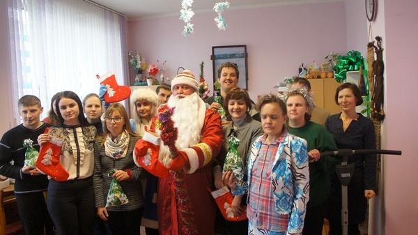 Праздник в отделении дневного пребывания для инвалидов в Ивьевском районе