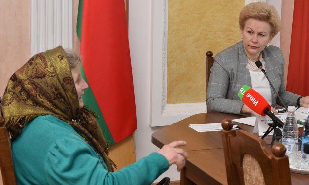 Министр труда и социальной защиты Республики Беларусь провела выездной прием граждан в Ивьевском райисполкоме