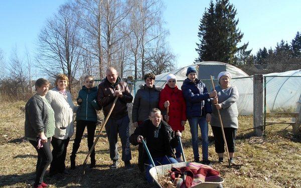 Акция « Земля встречает весну» проводится в Вороновском районе