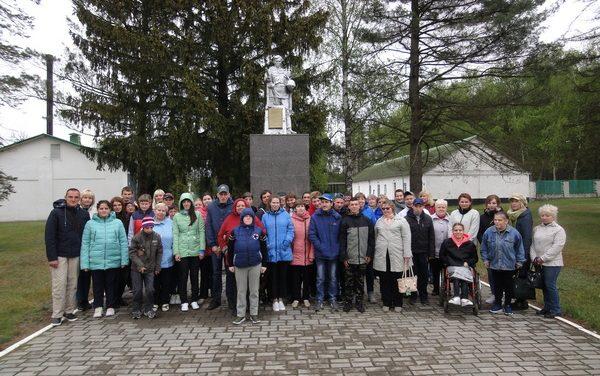 Посетили пограничную заставу имени героя Советского союза В.М. Усова.