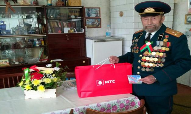 В Ленинском районе г.Гродно поздравили  ветеранов