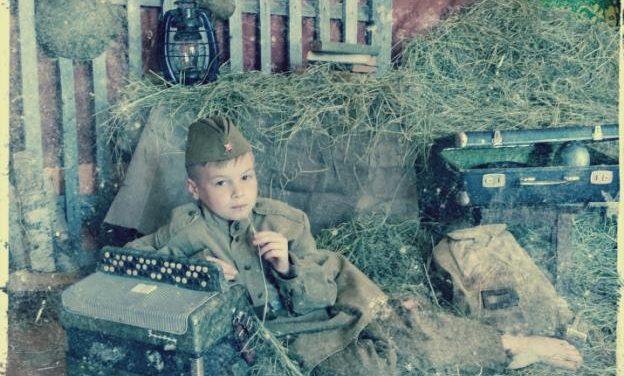 К 75-летию освобождения Беларуси от немецко-фашистских захватчиков в ГУ «ЦСОН Кореличского района» была создана фотозона