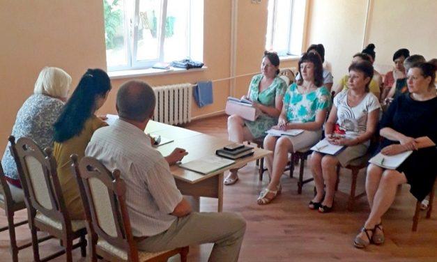 В ГУ «Территориальный центр социального обслуживания населения Новогрудского района» прошел районный день охраны труда