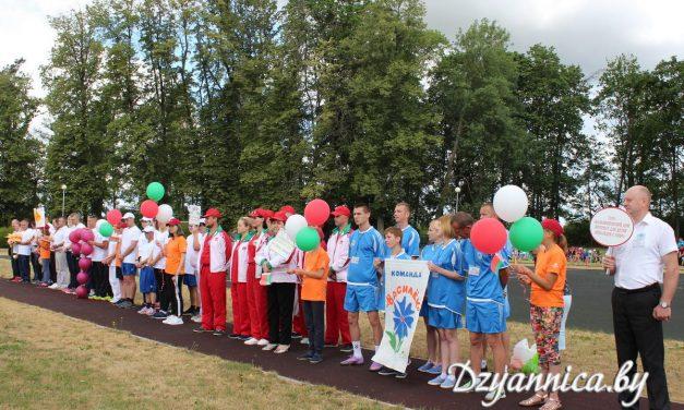Накануне Дня молодёжи в Щучинском районе прошла летняя областная спартакиада