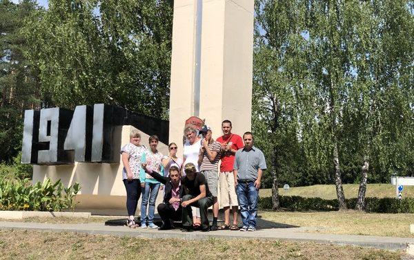 В преддверии Дня независимости Республики Беларусь — экскурсия по памятным местам Сморгонского района