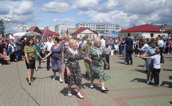 День Независимости в г. Дятлово