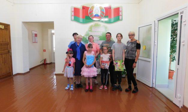 Акция « Соберем детей в школу» в Гродненском районе