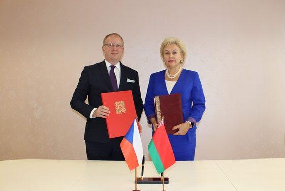 Подписано Административное соглашение с Чехией о применении Договора между Республикой Беларусь и Чешской Республикой о пенсионном обеспечении