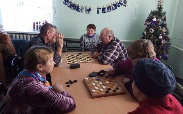 Шашечный турнир в агрогородке Каролино