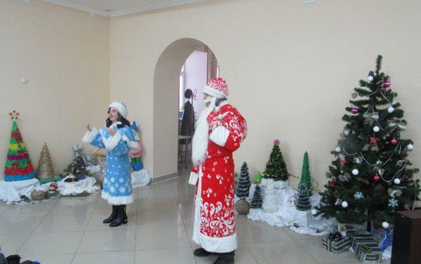 Новогодняя программа в Волковысском районе