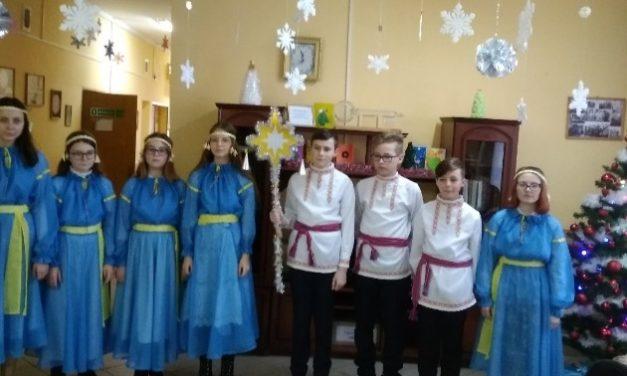 Рождественские праздники в отделении круглосуточного пребывания Новогрудского района
