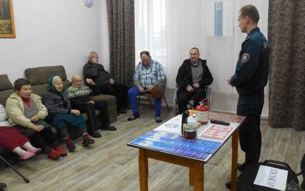 Акция «Безопасный Новый год!» в Ивьевском районе