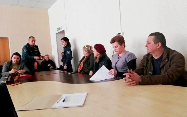 Будни пенсионной службы Волковысского района