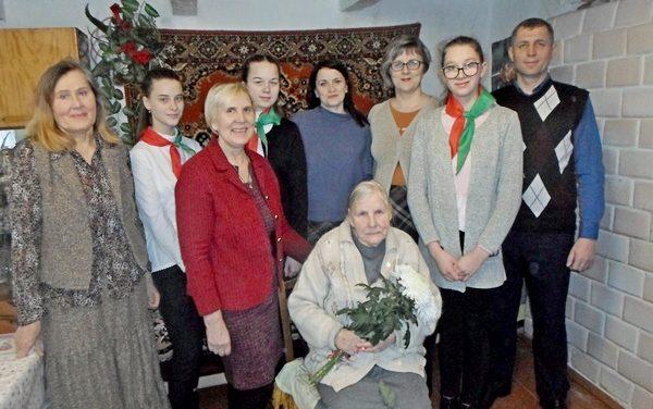 В рядах долгожителей Ивьевского района – пополнение