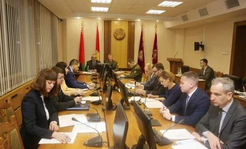 Заседание комиссии по предупреждению пожаров и гибели людей от них в жилищном фонде на территории Гродненской области