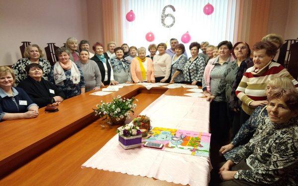 День рождения отделения для пожилых