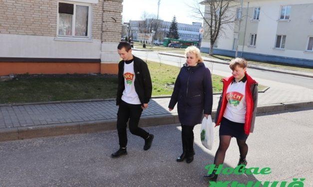 В Новогрудке оказывают помощь пожилым людям  в доставке продуктов  и лекарств на дом