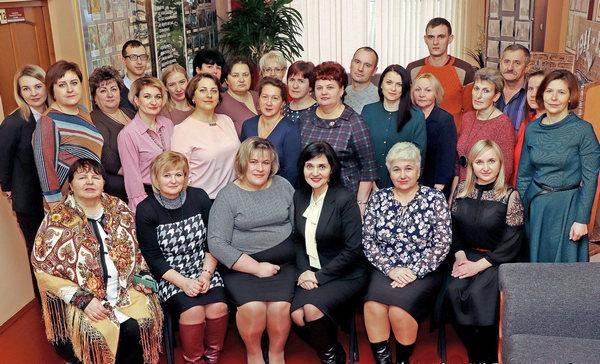 Территориальный центр социального обслуживания населения Ивьевского района – на Республиканской доске Почета!