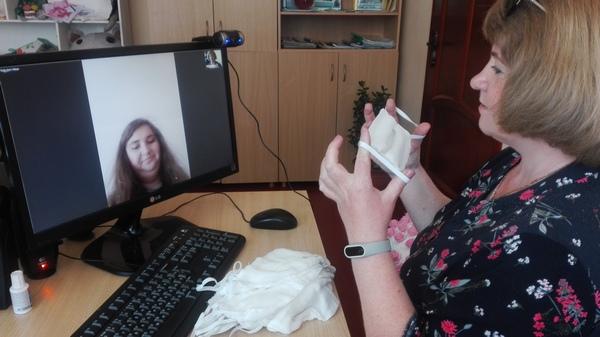 Работа отделения дневного пребывания для инвалидов ТЦСОН Ивьевского района в онлайн-формате