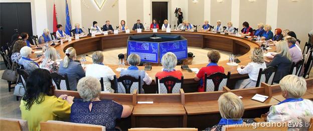 Встреча с активом Белорусского союза женщин