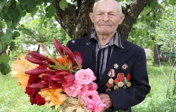 Ветерану войны Петру Иосифовичу Шевко исполнилось 95 лет