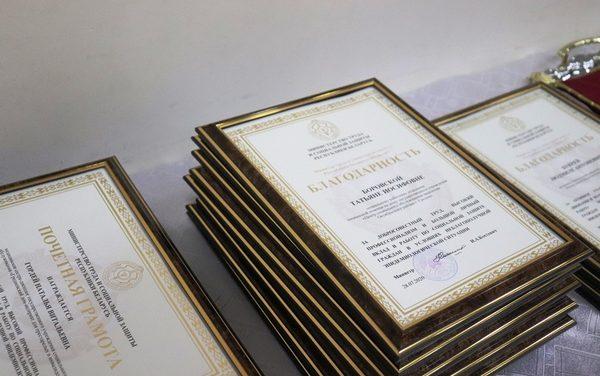 ВЛидепрошло торжественное награждение работниковсоциальной службы Гродненской области