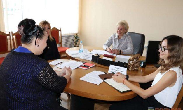 Министр труда и социальной защиты Республики Беларусь Ирина Костевич провела прием граждан в Кореличах