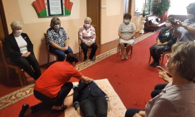 Мастер-класс по первой помощи для сотрудников ТЦСОН