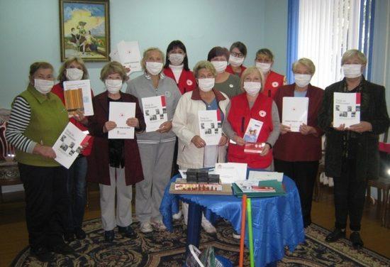 Тренинг-практикум для пожилых волонтёров  в рамках проекта БОКК
