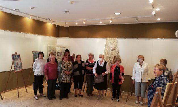 Посещение выставки в Ошмянском краеведческом  музее Ф.К. Богушевича пожилыми гражданами