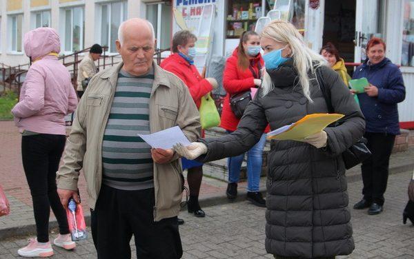 На Зельвенщине продолжается акция для пожилых людей