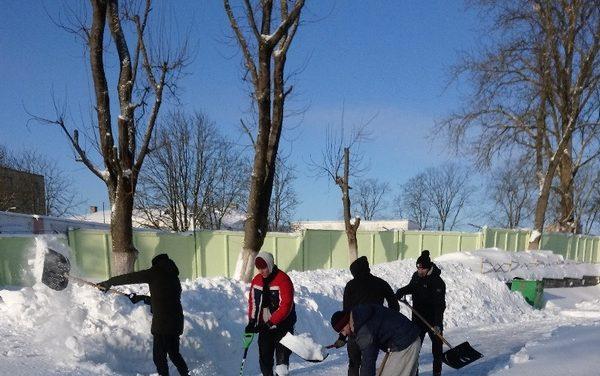 «Зимний десант» в Новогрудке