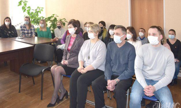 Встреча с коллективом Волковысского территориального центра социального обслуживания населения