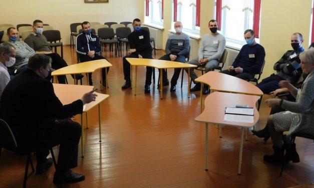Встреча в клубе «Мудрый папа» в Ивьевском районе