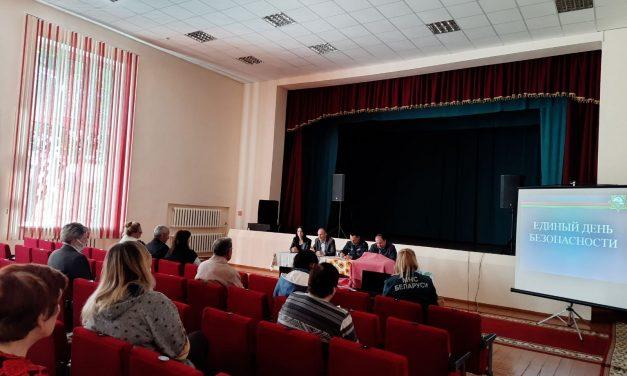 Встреча с жителями Кошелевского сельского совета в рамках акции «Уют и безопасность каждому»
