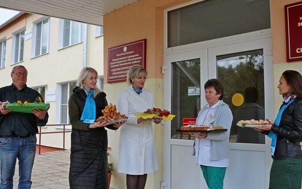 Благотворительная акция  в отделении круглосуточного пребывания для граждан пожилого возраста и инвалидов в д.Мадейки Зельвенского района