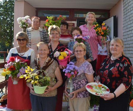 Праздничная встреча и квест-игра для пожилых людей в г.п.Зельва