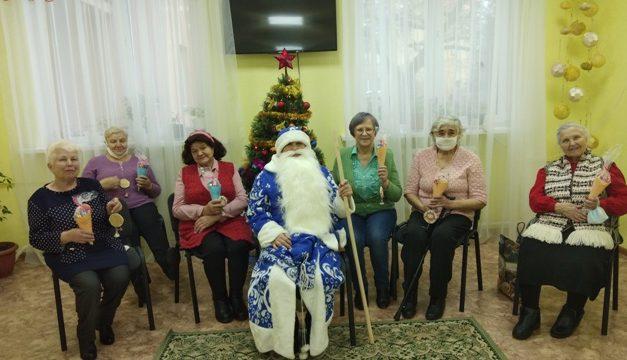 Новогоднее поздравление в Октябрьском районе г.Гродно
