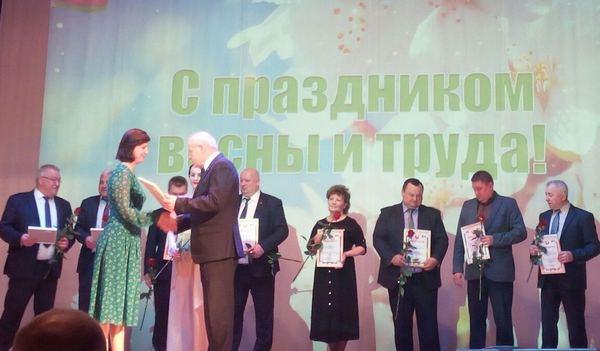 На доску почета Волковысского района занесено ГУ «ТЦСОН Волковысского района»